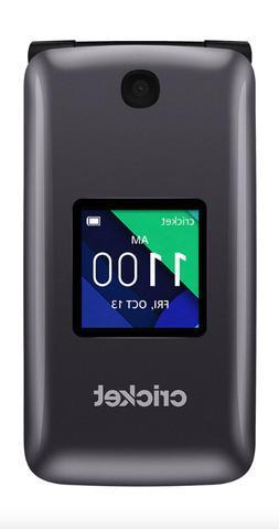 Alcatel QUICKFLIP  4G LTE Wi-Fi 4GB Flip Phone - Silver