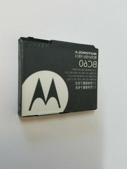 Rare BC60 SNN5768A Motorola C257 C261 L6 RAZR V3x SLVR L7 SL