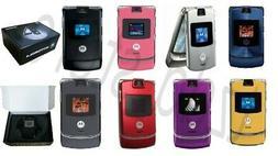 Motorola Razr V3 -  Original Box! Factory Unlock! cell phone