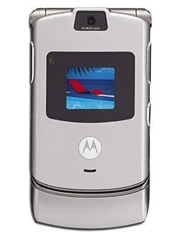 AT&T Motorola RAZR V3 No Contract Quad Band GSM Camera Cell