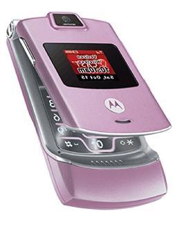 Motorola RAZR V3m Pink Verizon Flip Phone Ready To Activate!