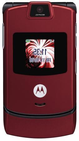 Motorola RAZR V3m Red Phone