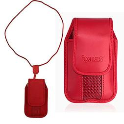 Red Around The Neck Hanging Lanyard Magnetic Top Case fits G