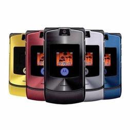 Retro Motorola Razr V3 GSM Unlocked Worldwide International