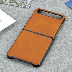 retro simple business leather phone case