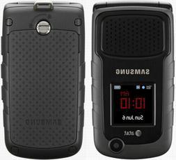 Samsung Rugby 2 II SGH-A847 Black  T-mobile Unlocked Flip Ce