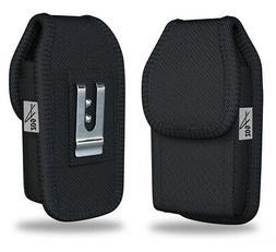 AGOZ Rugged Belt Clip Flip Phone Case Pouch for Kyocera Dura