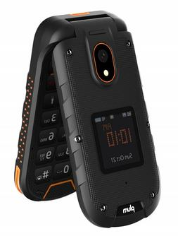 Flip Phone 4G GSM Unlocked Rugged Water Shock Proof Tough St
