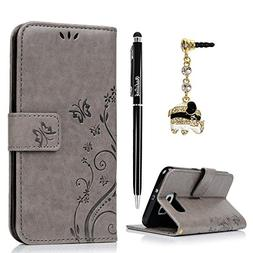 S6 Case,Samsung Galaxy S6 Case  - BADALink Fashion Wallet Pr