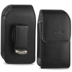 Samsung Convoy 2 U660 & Convoy u640 Vertical Leather Case wi