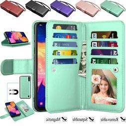 For Samsung Galaxy A10e A20 A50 A51 A71 A01 Case Wallet Card