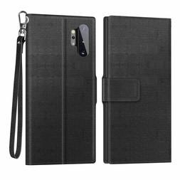 Samsung Galaxy Note 10 Plus Case / Note 10+ 5G Case Wallet F
