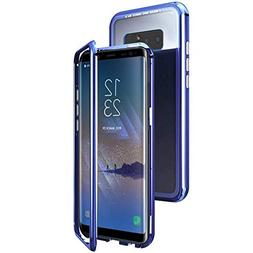 QLTYPRI Samsung Galaxy Note 8 Case, Ultra Thin Metal Frame M
