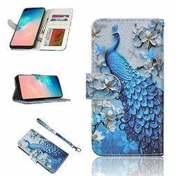 Samsung Galaxy S10 Wallet Case Leather Case Flip Holder Cove