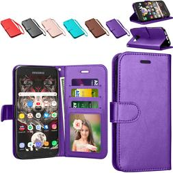 For Samsung Galaxy S7 / J7 / J3 Phone Case Wallet Leather Ca