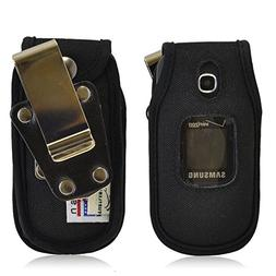 Turtleback Samsung Gusto 3 Heavy Duty Leather Case with Rota