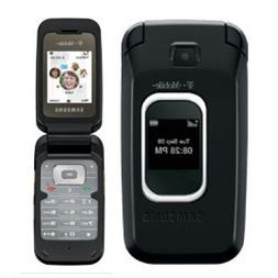 Samsung SGH-T229 T229 Flip Cell Phone  No Contract BLACK
