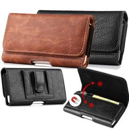 For Smart CellPhones with Case Leather Flip Cover Card Cash