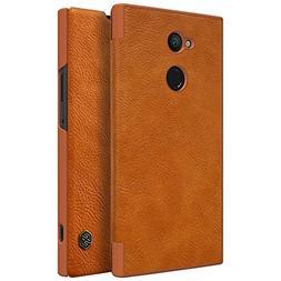 Sony Xperia XA2 Ultra Case,Mangix Flip PU Leather Wallet Sma