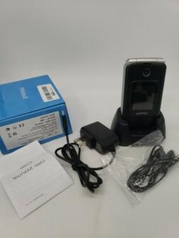 📱SOS SENIORS ELDERLY PHONE 3G Unlocked Senior Flip Screen