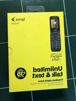 Sprint Alcatel OneTouch Retro Cell Phone No Contract No Cred