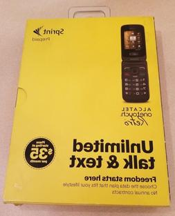 Sprint Alcatel OneTouch Retro Cell Phone No Contract Prepaid