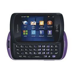 Pantech Swift P6020 AT&T Locked Slider Cell Phone - Purple