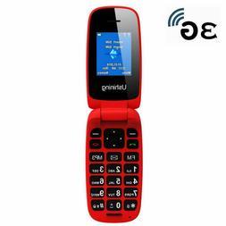 Ushining T-Mobile Flip Phone 3G Big Icon GSM Unlocked Flip P