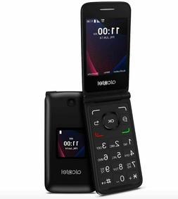 T-mobile Alcatel GO FLIP 3 4052W Black Flip Phone.