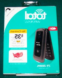 TOTAL Wireless ZTE Z233VL Cell Flip Phone 4Glte Brand New Se