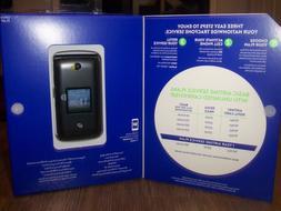 Tracfone Flip Phone No Contract PrePaid Alcatel A405DL MyFli