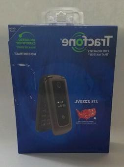 Tracfone ZTE Z233VL 4G LTE Flip Phone 2 MP 1.1 GHz TFZE233VC