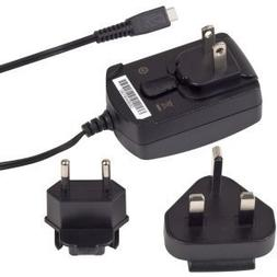 Original BlackBerry U.K. European Charger Head, Black for: P