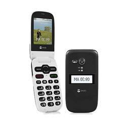 UNLOCKED Black Doro Phone Easy 626  Flip Phone