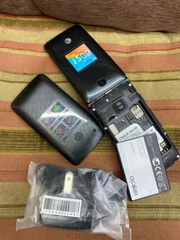 Unlocked Alcatel Cingular Flip 2 4G LTE Flip Phone GSM Big B