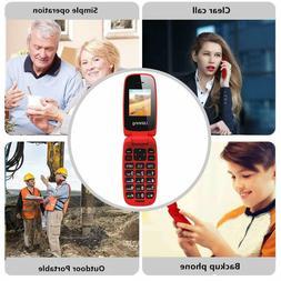 Ushining Unlocked Flip Cell Phone for Seniors,Easy-to-Use,T-