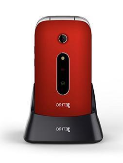 Jethro   3G Unlocked Flip Senior & Kids Cell Phone, FCC/IC