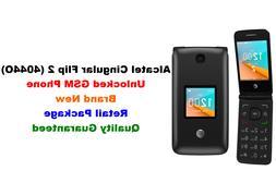 Unlocked GSM AT&T Alcatel Cingular Flip 2 4044O 4G LTE Wi-Fi