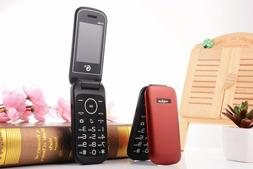 Unlocked GSM Old Man Cheap Flip Mobile Phone TKEXUN E1190 2.