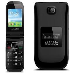 UNLOCKED Alcatel OneTouch A392A Quad Band Flip Cell Phone, C