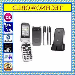 UNLOCKED SENIORS DORO 623/6520+3G+BIG BUTTON+ELDER USE FLIP