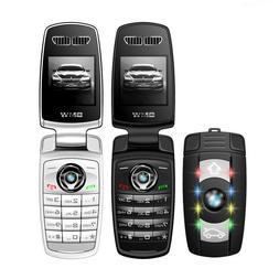 Unlocked X6 Car key Mini Mobile Cell Phone GSM 2G Flip phone