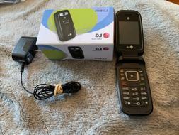 USED LG B470 AT&T Prepaid Basic 3g Flip Phone, Black - Carri