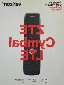 Verizon ZTE Cymbal LTE Flip Cell Phone 4G LTE - Verizon Prep