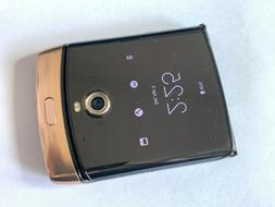 Verizon Motorola RAZR 128GB 6GB Noir Black 16MP LTE Smart Fl