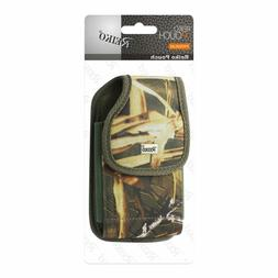 Reiko Camo Vertical Belt Clip Holster Case for GreatCall Jit