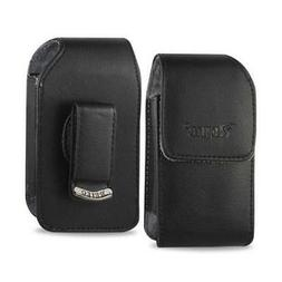 Vertical Leather Case for Alcatel One Touch Retro, Fling, Sp