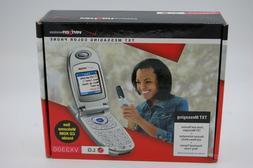 LG VX3300 - Blue black  Cellular Phone Flip Phone, Color