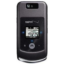 Motorola W755 Black Verizon Cell Phone / No Contract Ready T