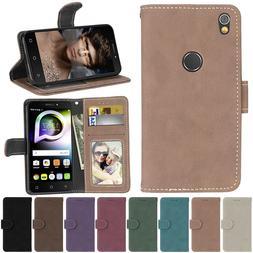 Wallet Case For <font><b>Alcatel</b></font> Shine Lite 5080X